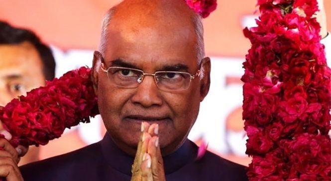 कोविन्द बने भारतको १४ औ राष्ट्रपति